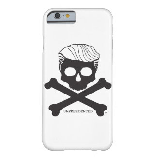 Funda Barely There iPhone 6 caso 6/6s - blanco del iPhone con el logotipo