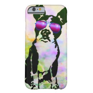 Funda Barely There iPhone 6 Caso de Boston Terrier