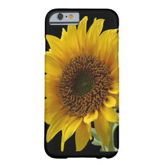 Funda Barely There iPhone 6 Caso de IpHone del girasol para ella