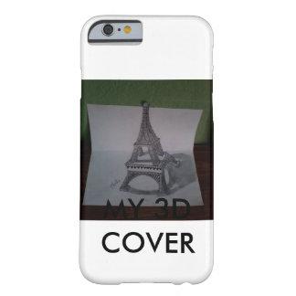 Funda Barely There iPhone 6 caso del amante del dibujo 3d