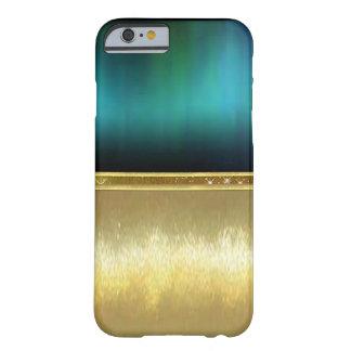 Funda Barely There iPhone 6 Caso del diseño del oro de la chispa de la