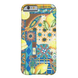 Funda Barely There iPhone 6 Caso del iPhone 6/6s de los limones y de las tejas