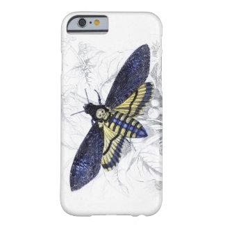 Funda Barely There iPhone 6 Caso del iPhone 6 de la CABEZA de MUERTES HAWKMOTH