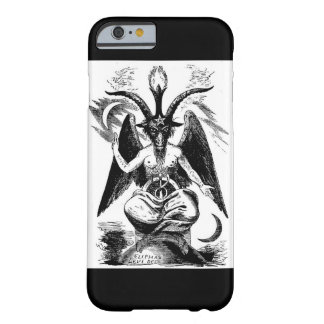 Funda Barely There iPhone 6 caso del iphone 6 del baphomet