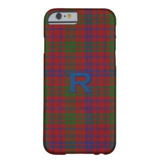 Funda Barely There iPhone 6 Caso del iPhone 6S de la tela escocesa de tartán