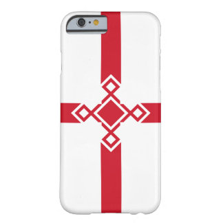 Funda Barely There iPhone 6 Caso del iPhone de Inglaterra - cruz anglosajona
