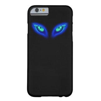 Funda Barely There iPhone 6 Caso del iphone de los ojos de gato