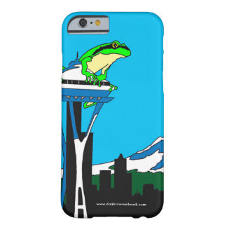 Funda Barely There iPhone 6 Caso del iPhone de Seattle quintaesencial,
