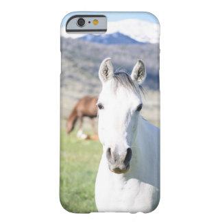 Funda Barely There iPhone 6 Caso del iPhone del caballo blanco