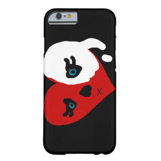 Funda Barely There iPhone 6 caso del iPhone del corazón