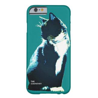 Funda Barely There iPhone 6 Caso del iPhone del gato del smoking del abucheo