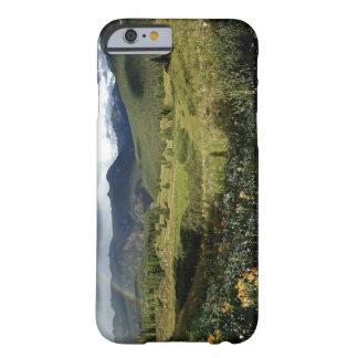 Funda Barely There iPhone 6 Caso del iphone del paisaje de la montaña