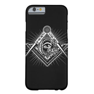 Funda Barely There iPhone 6 Caso del iPhone del símbolo del Freemason
