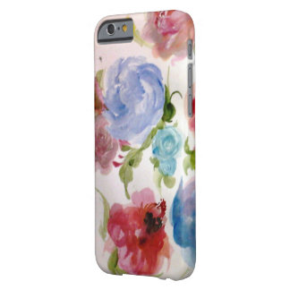 Funda Barely There iPhone 6 Caso floral