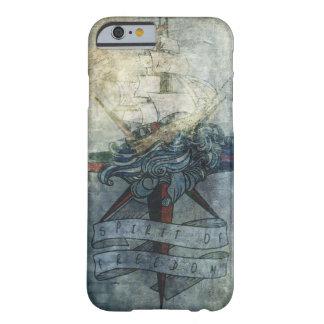 Funda Barely There iPhone 6 Caso hermoso del iphone con un dibujo de una