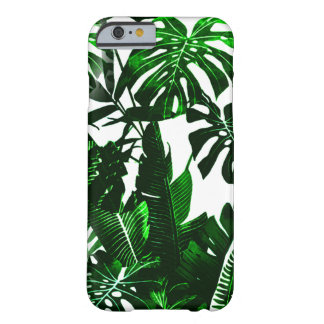 Funda Barely There iPhone 6 Caso lindo del iPhone de las hojas