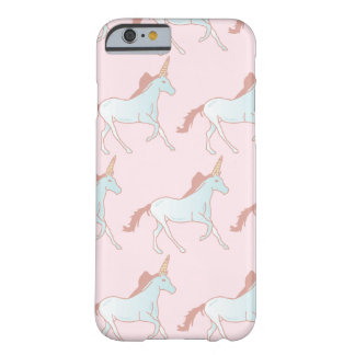 Funda Barely There iPhone 6 Caso lindo del iPhone de los unicornios