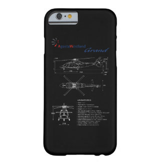 Funda Barely There iPhone 6 Caso magnífico del iPhone 6 de AgustaWestland