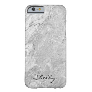 Funda Barely There iPhone 6 Caso nombrado personalizado del iPhone 6/6s Gray