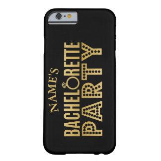 Funda Barely There iPhone 6 Caso nupcial del fiesta de Bachelorette del equipo