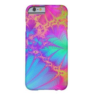 Funda Barely There iPhone 6 Caso psicodélico del iPhone 6 del arco iris del