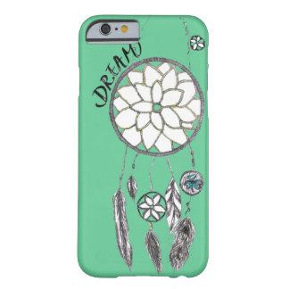 Funda Barely There iPhone 6 Caso verde azulado del iPhone 6 de DreamCatcher