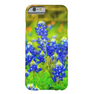 Funda Barely There iPhone 6 Casos de Iphone de los Bluebonnets de Tejas