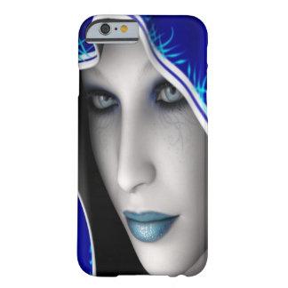 Funda Barely There iPhone 6 Chica azul de la fantasía