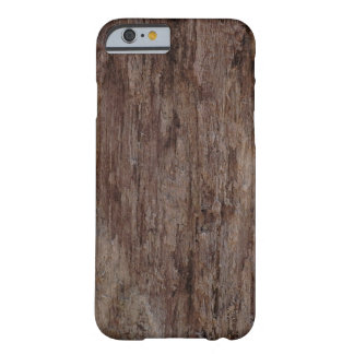 Funda Barely There iPhone 6 Corteza de madera de Brown BarkWooden