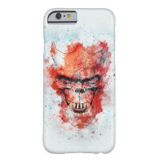 Funda Barely There iPhone 6 Cráneo de la bestia