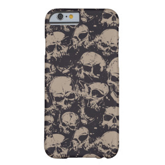 Funda Barely There iPhone 6 cráneos
