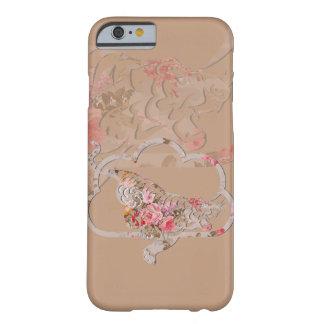 Funda Barely There iPhone 6 Cubierta afortunada del teléfono del tigre el |