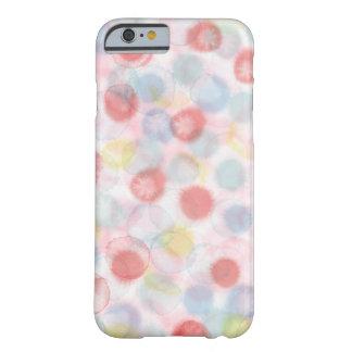 Funda Barely There iPhone 6 cubierta del caso del iPhone, puntos del