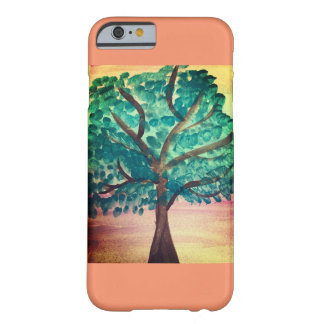 Funda Barely There iPhone 6 Cubierta preciosa de Iphone del árbol