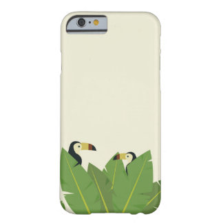 Funda Barely There iPhone 6 Cubierta tropical toucan del teléfono celular del