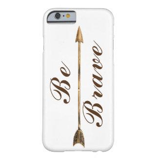Funda Barely There iPhone 6 De moda sea flecha valiente de Boho del oro