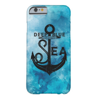 Funda Barely There iPhone 6 Deep blue sea nautical beautiful case