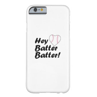 Funda Barely There iPhone 6 Del béisbol del regalo talud del talud ey