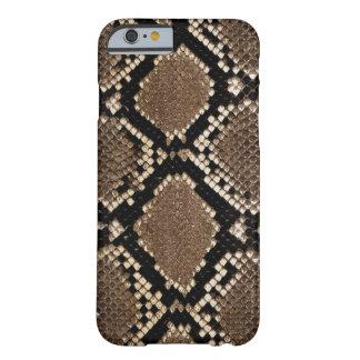Funda Barely There iPhone 6 Diseño muy elegante de la piel de serpiente