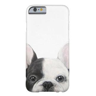 Funda Barely There iPhone 6 Dogo francés. Pintura original por el miart