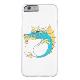 Funda Barely There iPhone 6 Dragón del mar