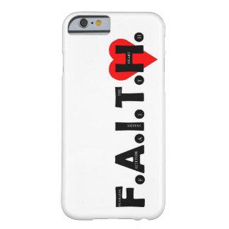 Funda Barely There iPhone 6 El caso de la protección de F.A.I.T.H. IPhone