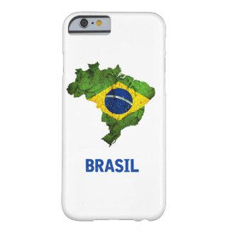 Funda Barely There iPhone 6 El caso del iPhone de la bandera del Brasil