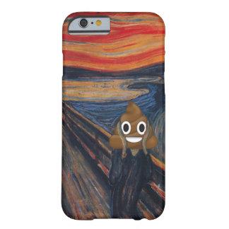 Funda Barely There iPhone 6 El grito con impulso feliz