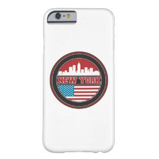 Funda Barely There iPhone 6 El horizonte el   Estados Unidos de Nueva York