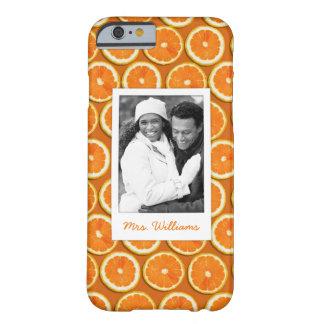 Funda Barely There iPhone 6 El modelo anaranjado el | de la rebanada añade su