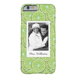 Funda Barely There iPhone 6 El modelo verde el | de la cal añade su foto