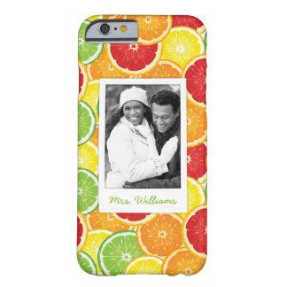 Funda Barely There iPhone 6 El naranja, el pomelo, la cal y el limón el |