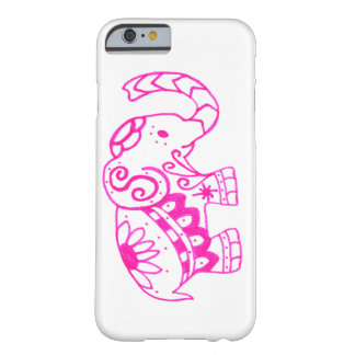 Funda Barely There iPhone 6 Elefante rosado
