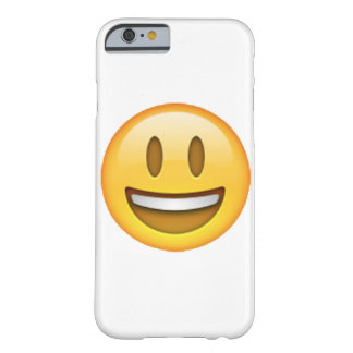 Funda Barely There iPhone 6 Emoji - ojos abiertos de la sonrisa